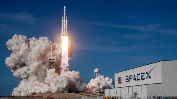 SpaceX is the first company to transport people into orbit