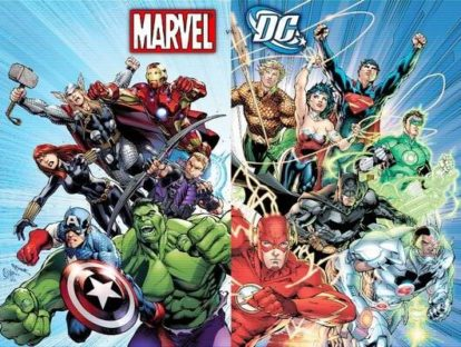 Comic books help you escape to a world where other-worldly creatures and super powers exist. But which comic book series do you prefer? Keep reading to know which series upstages the other.